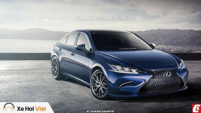 Những điểm nổi bật về Lexus ES 2019 ra mắt cuối tháng 4