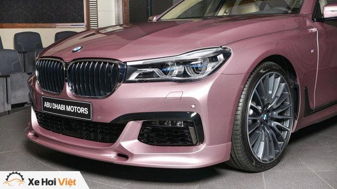 BMW 750Li xDrive cực cá tính với màu sơn hồng phấn - 8