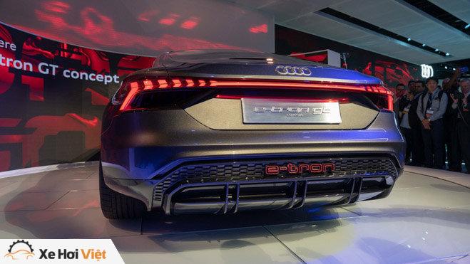Cận cảnh xe điện Audi E-tron GT vừa ra mắt - 5