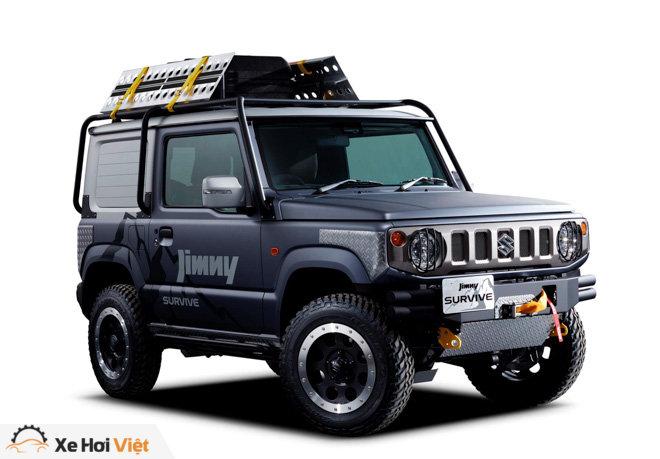 Suzuki sắp giới thiệu hai bản độ chính hãng cho chiếc SUV Jimmy - 1