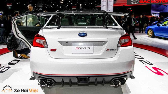 Subaru giới thiệu WRX STI S209: Nâng cao hiệu năng vận hành - 4