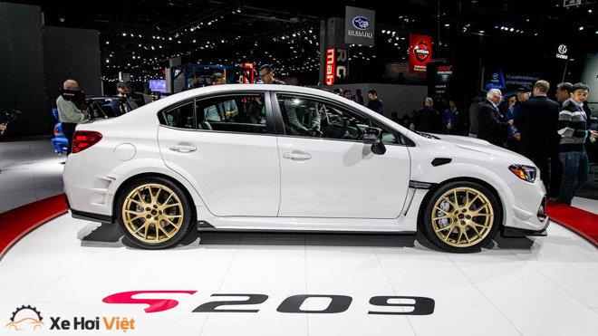 Subaru giới thiệu WRX STI S209: Nâng cao hiệu năng vận hành - 3
