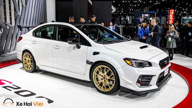 Subaru giới thiệu WRX STI S209: Nâng cao hiệu năng vận hành - 1