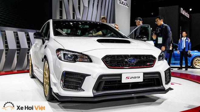 Subaru giới thiệu WRX STI S209: Nâng cao hiệu năng vận hành - 2