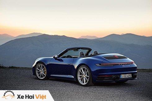 Porsche 911 Cabriolet mui trần có giá từ 8,4 tỷ đồng - ảnh 3