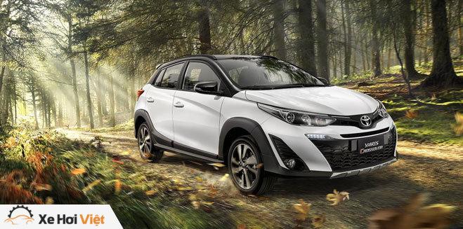 Toyota bổ sung thêm phiên bản gầm cao Yaris Crossover - 1