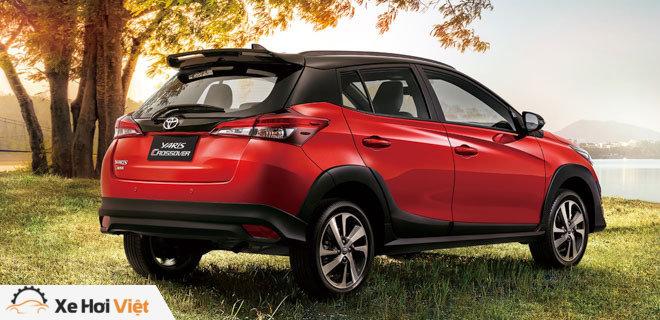 Toyota bổ sung thêm phiên bản gầm cao Yaris Crossover - 6
