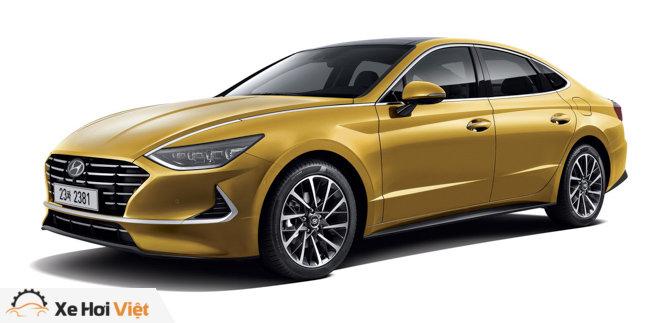 Hyundai Sonata 2020 ra mắt với diện mạo hoàn toàn mới, nội thất như xe Đức - 3