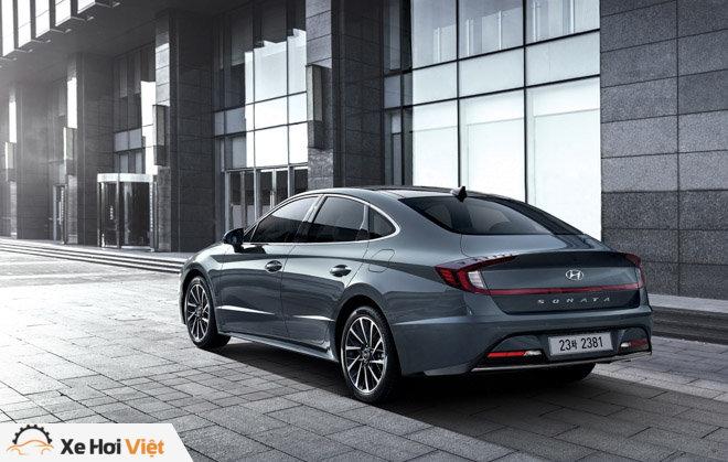 Hyundai Sonata 2020 ra mắt với diện mạo hoàn toàn mới, nội thất như xe Đức - 2